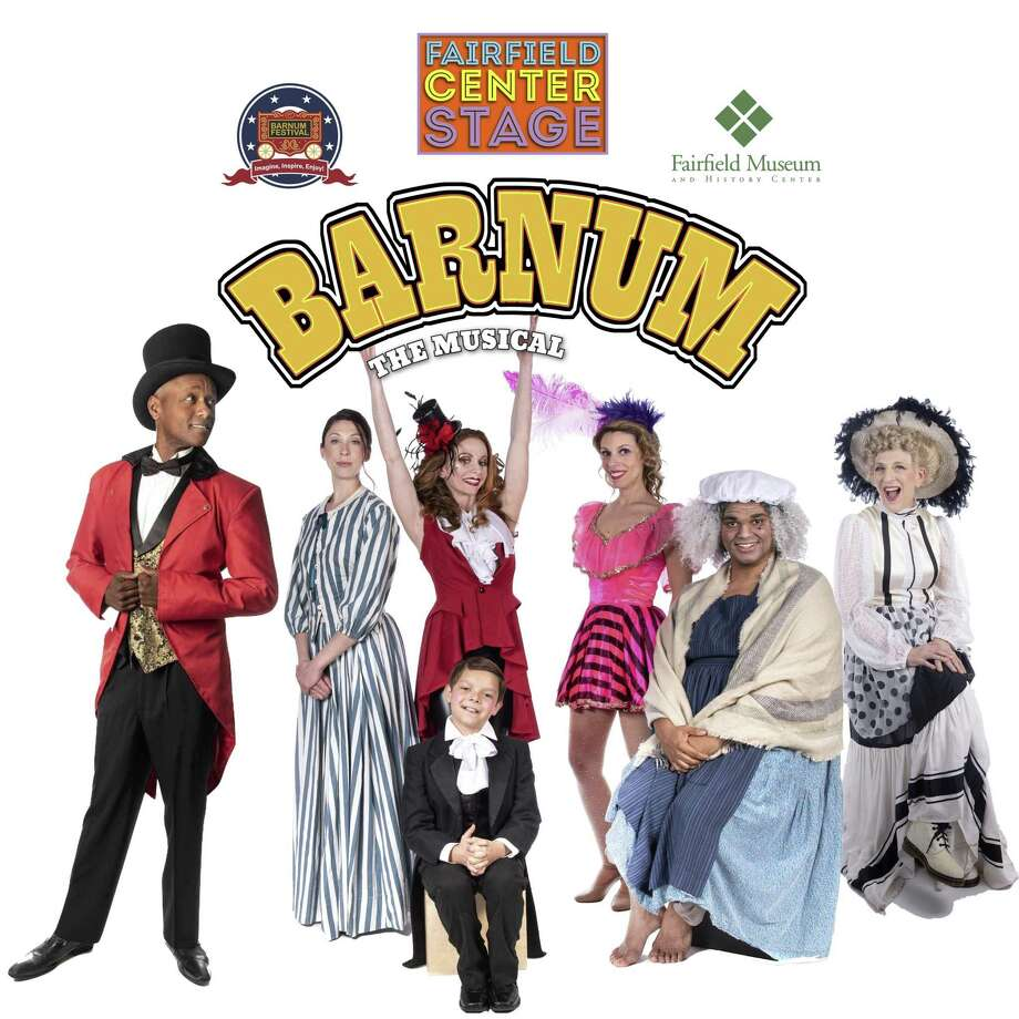 "On Thursday, June 27, through Saturday, June 29, ""Barnum"" will be performed at the Fairfield Museum in Fairfield, featuring musician Javier Colon and comedian/actress Lisa Lampanelli. Photo: Barnum Festival / Contributed Photo"