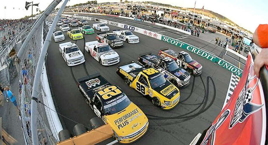 World Wide Technology Raceway in Madison will present a NASCAR-ARCA doubleheader June 22. The day will include two races on the 1.25-mile oval. Photo: File Photo