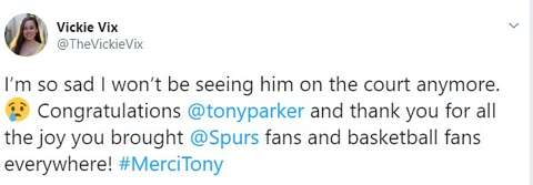 1cc38316688 <p>San Antonio Spurs fans react on Twitter to the news of former Spur