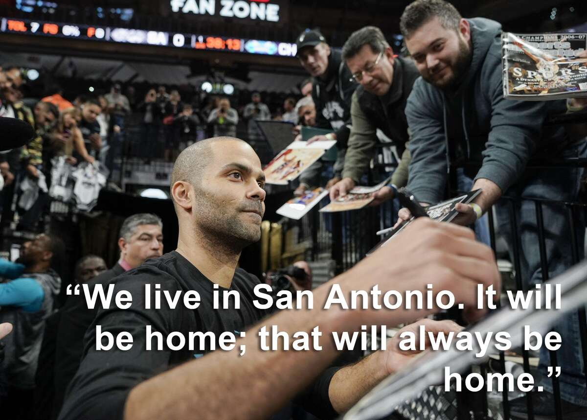 Tony Parker on where he plans to live post-retirement: