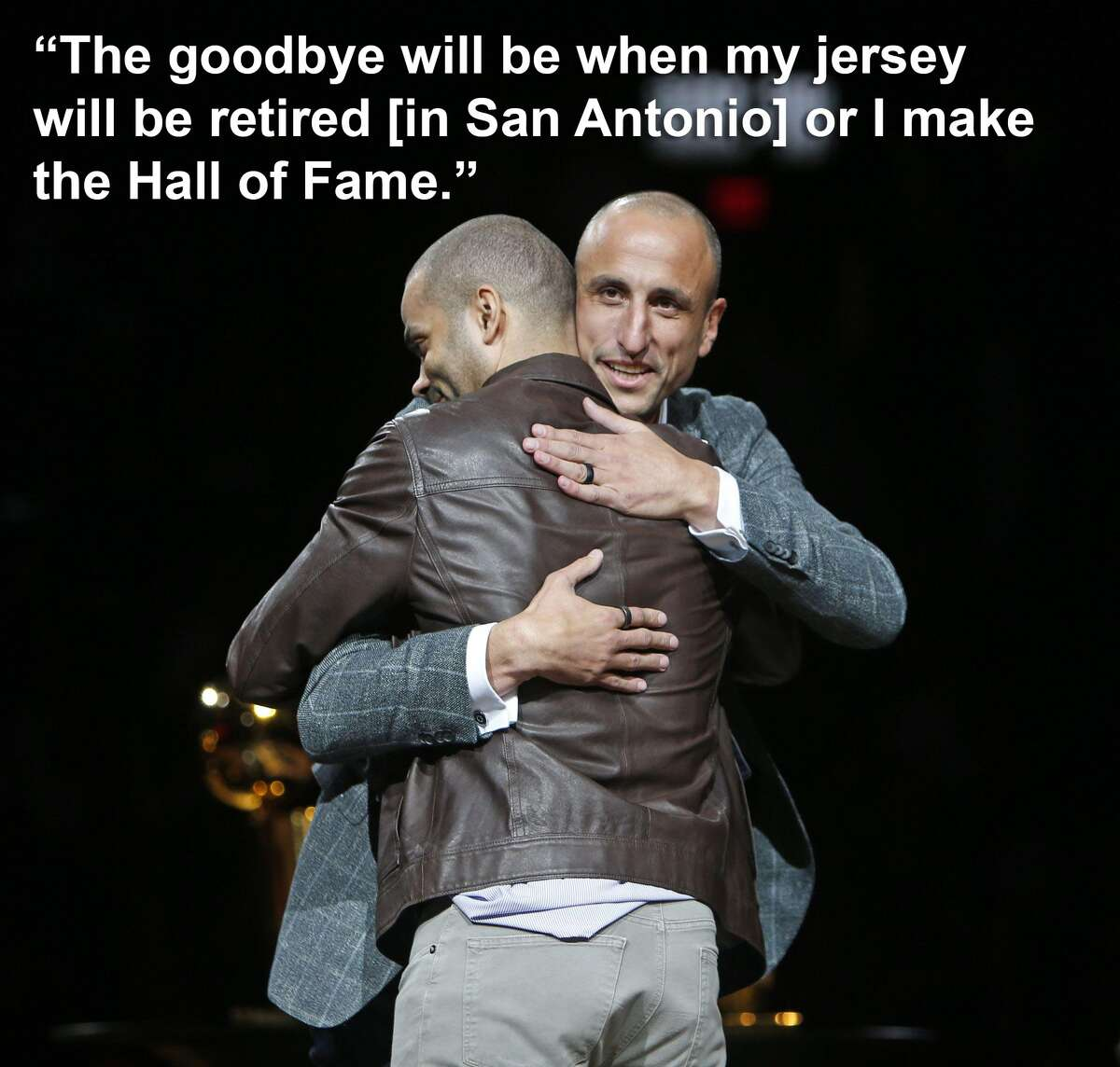 Tony Parker on why he didn't want a farewell season: