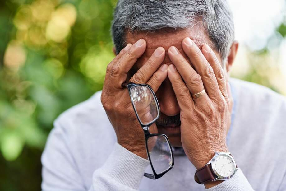 A man is coming to terms with the grief after his wife passed away. Photo: LaylaBird/Getty Images