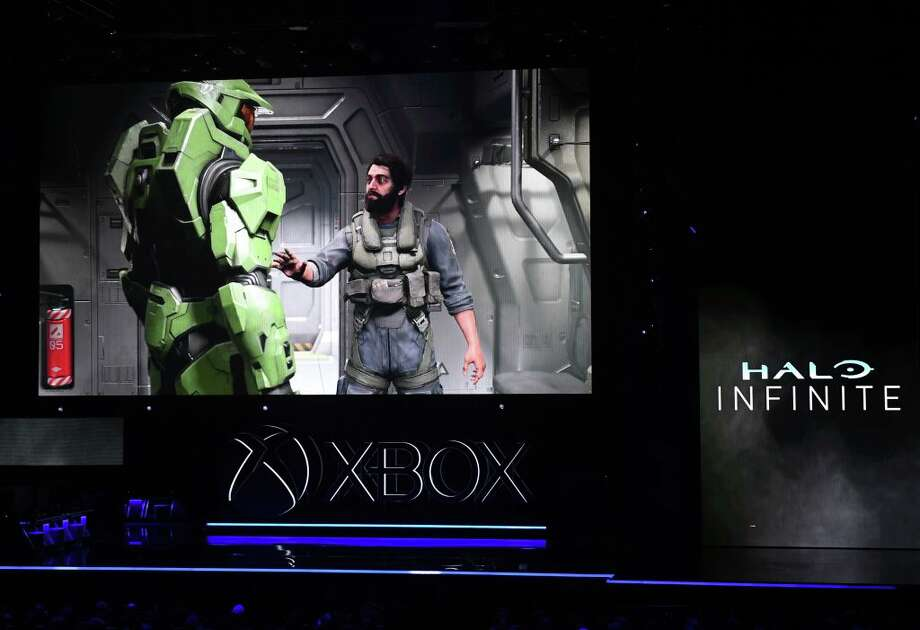 Halo InfiniteA new trailer for the latest installment of Microsoft's flagship sci-fi shooter was shown off, along with a release date: Holiday 2020.  Photo: MARK RALSTON/AFP/Getty Images