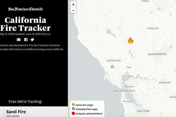 The Chronicle's fire tracker