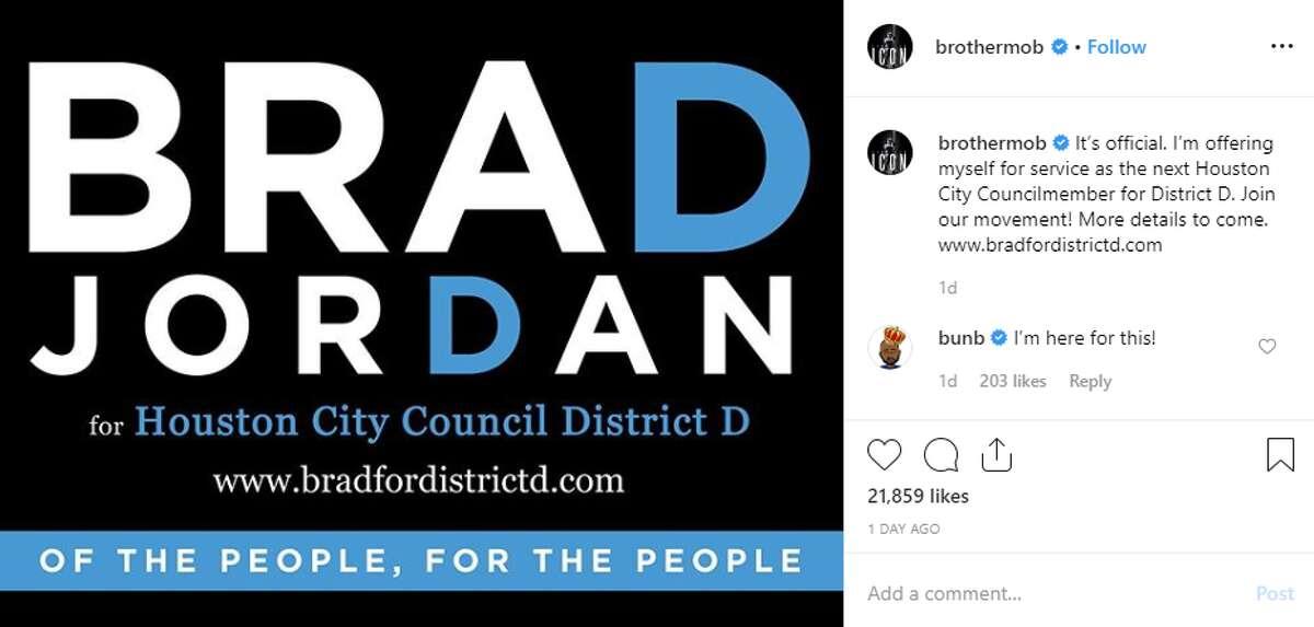 Brad Jordan, better known by his rapper name