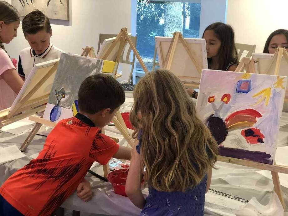 This summer is the first time the Glade Arts Foundation is offering classes for kids with Camp Glade. Cynthia Reid, the foundation's director of education, said the goal is to provide a high-quality fine arts experience for kids. Photo: Submitted Photo / Submitted Photo