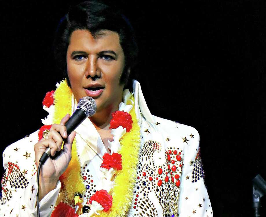 Houston performing artist Vince King will celebrate what would have been Elvis Presley's 85th birthday two days later at 8 p.m. on Jan. 10 at Main Street Crossing in Tomball. Main Street Crossing is located at 111 W. Main St. in Tomball. Learn more at https:// www.reverbnation.com/venue/mainstreetcrossing or call 281-290-0431. Photo: Submitted