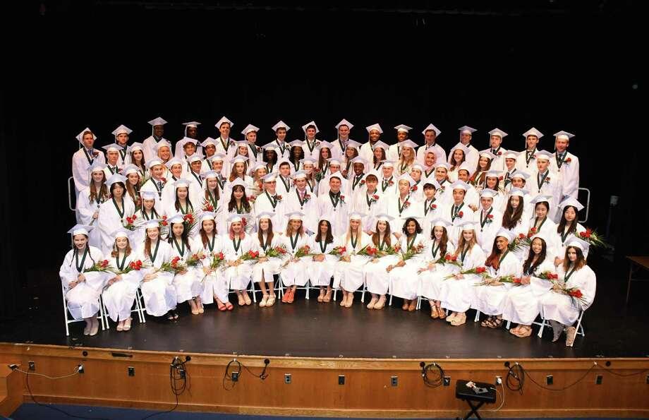 Hamden Hall Country Day School's 107th Commencement Photo: Contributed Photo / John Atashian