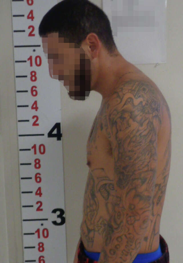 During an immigration inspection at theZapata County Regional Jail, Border Patrol agents arrested a Mexican citizen who later in questioning admitted to be a member of the Paisas prison gang. Photo: Courtesy