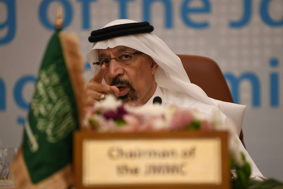 Saudi Arabia Energy Minister Khalid al-Falih chairs the one-day OPEC+ group meeting in the Saudi city of Jeddah on May 19, 2019.  CONTINUE to see which countries are part of OPEC. Photo: Amer Hilabi, AFP/Getty Images