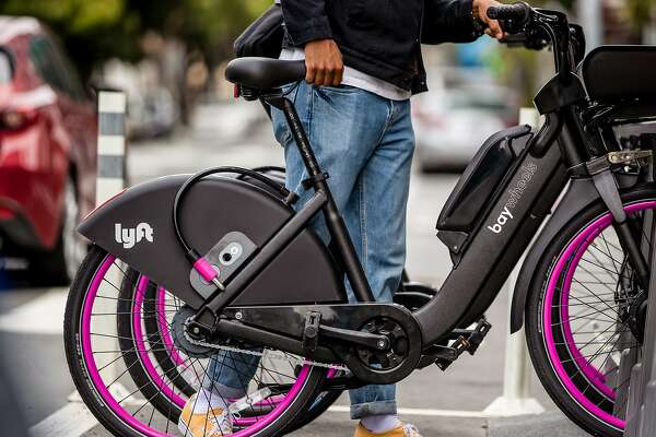 Lyft has picked Bay Wheels as the new name for its street-rented bikes, formerly called Ford GoBikes.