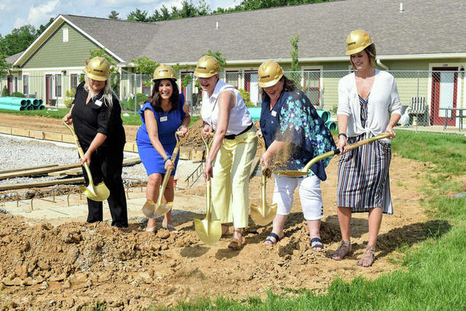 Stillwater Senior Living officials break ground June 5 on their expansion, which is scheduled to be complete in the winter of 2020. Photo: Submitted Photos