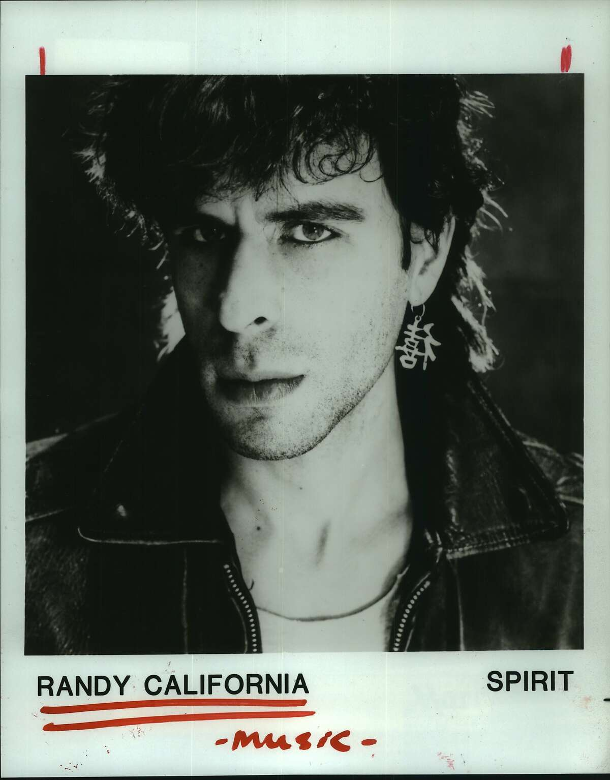 Randy California will be performing with Spirit tonight at Cardi's. Music.