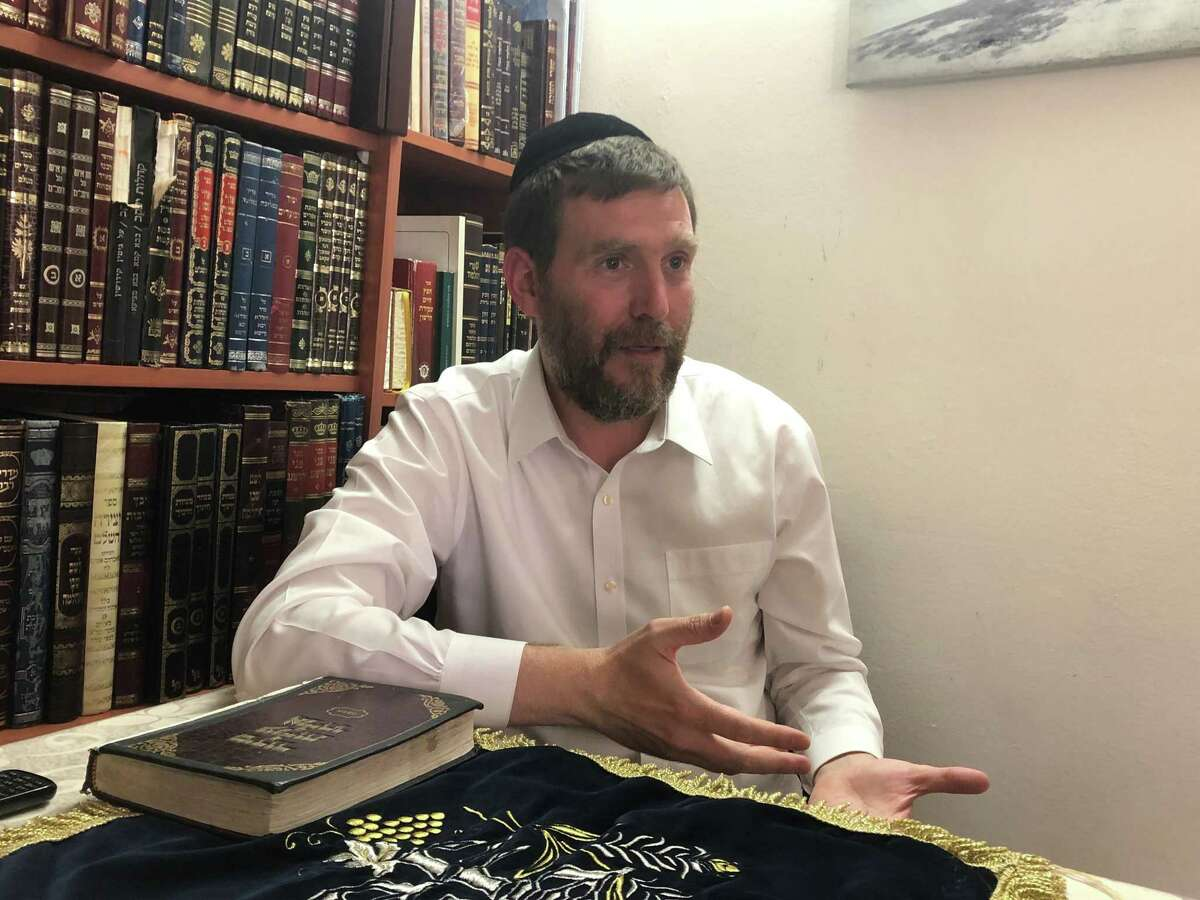 Rabbi Avraham Menkes has led demonstrations against the ultra-Orthodox being drafted into the military.
