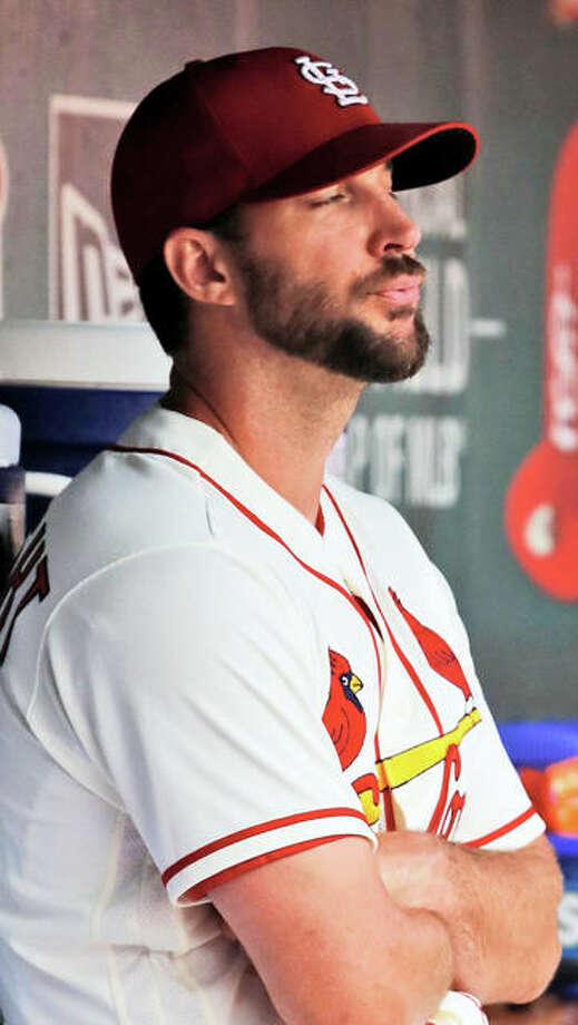 The Cardinals announced that right-handed pitcher Adam Wainwright has been placed on the 10-day Injured List with a left hamstring strain effective Monday. Photo: AP Photo