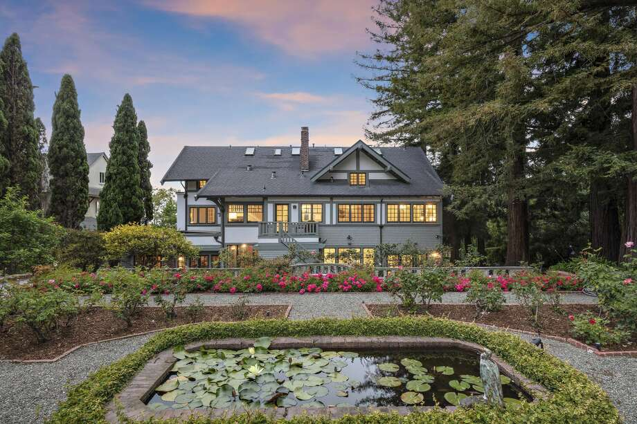 With seven bedrooms and 6.5 bathrooms spread across 8,000 square feet, an estate at 320 El Cerrito Ave. in Piedmont, Calif., is listed for $6.6 million. Photo: Christian Klugmann