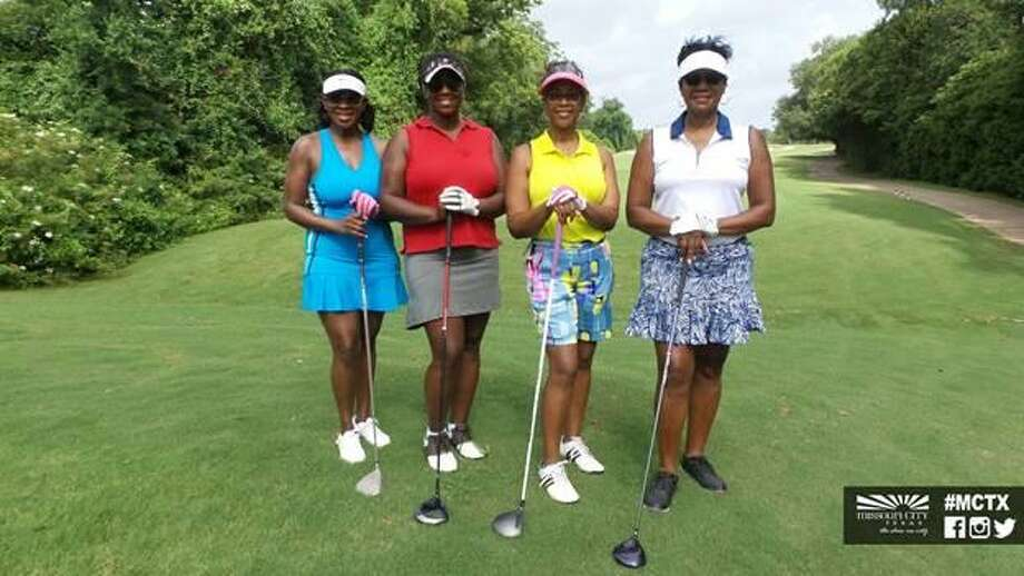 The 2018 MCJCF Scholarship Golf Tournament at the 16th Annual Juneteenth Celebration in Missouri City. Photo: Courtesy Of The City Of Missouri City
