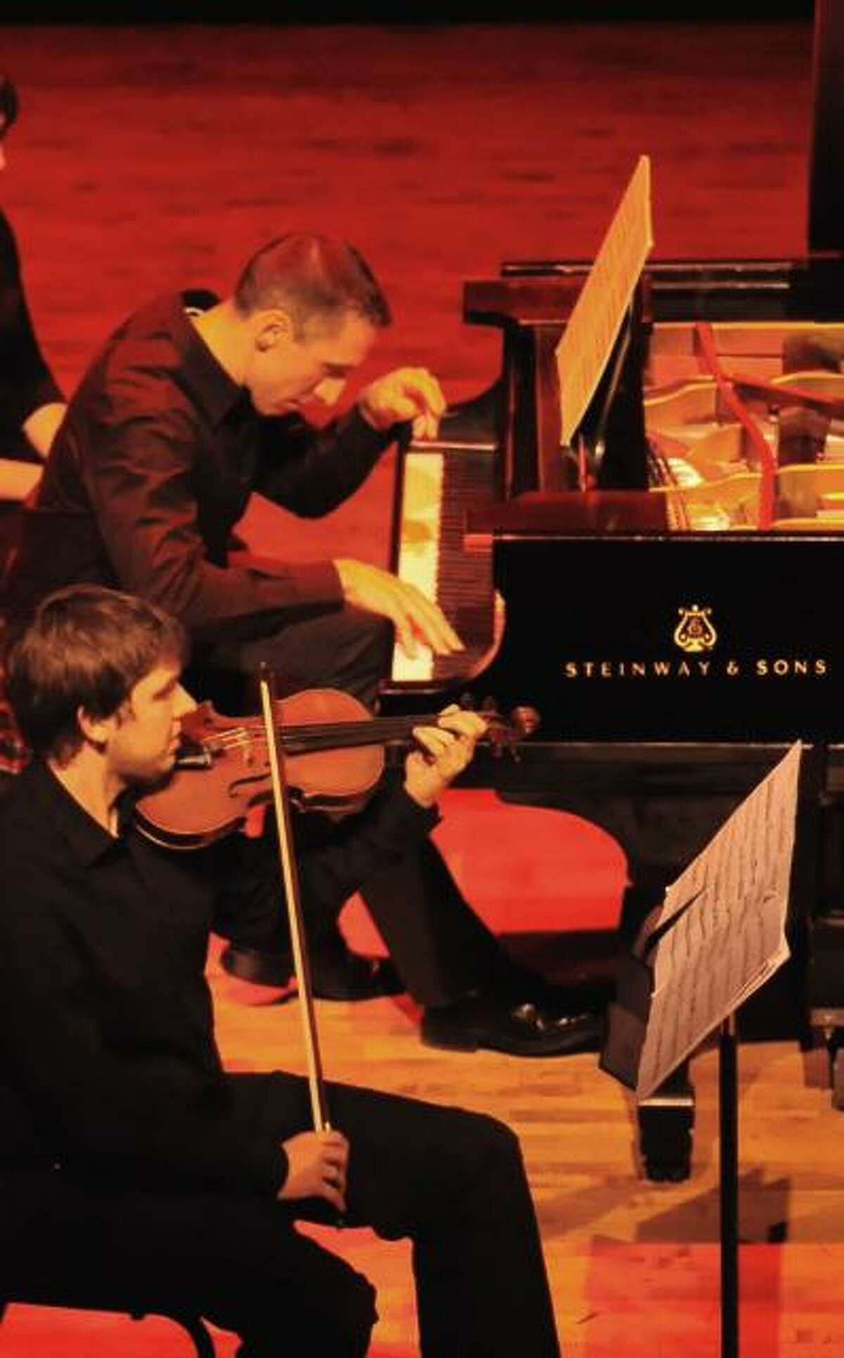 Michael Zuraw, piano, and Timothy Peters, of Aperio: Music of the Americas