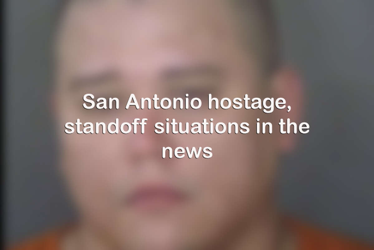 Click through for standoff and hostage situations in the news in San Antonio.