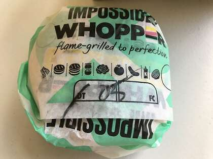 Impossible Whoppers now for sale at all Bay Area Burger Kings