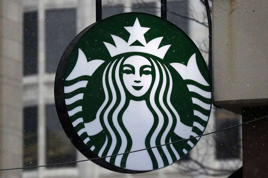 FILE - This March 14, 2017 file photo shows the Starbucks logo on a shop in downtown Pittsburgh. Photo: Gene J. Puskar / Associated Press 2017