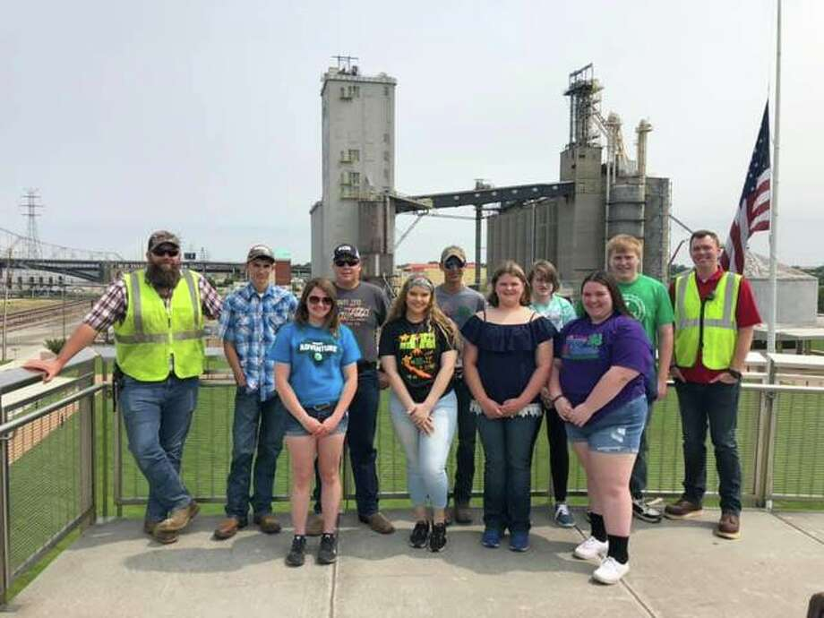 Youth leaders from Jersey, Macoupin and Montgomery counties on June 3 took part in a 4-H St. Louis Career Exploration program.