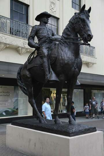 Roosevelt statue now part of Alamo Plaza