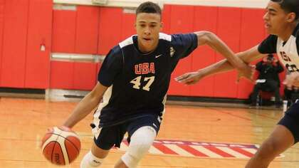 804a7da08cd R.J. Hampton of Little Elm has played for USA Basketball but will start his  pro career in New Zealand and Australia instead of playing a season in  college.
