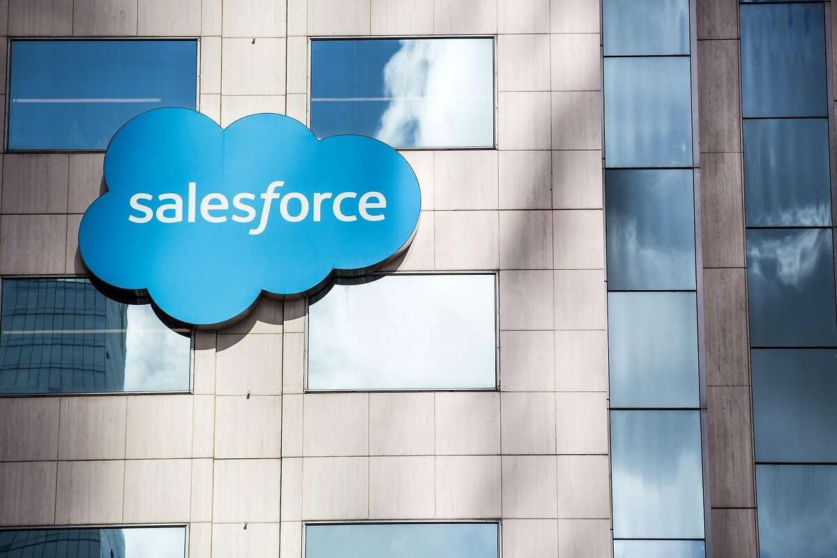 Salesforce's affiliation with the U.S. Chamber of commerce has been called into question.