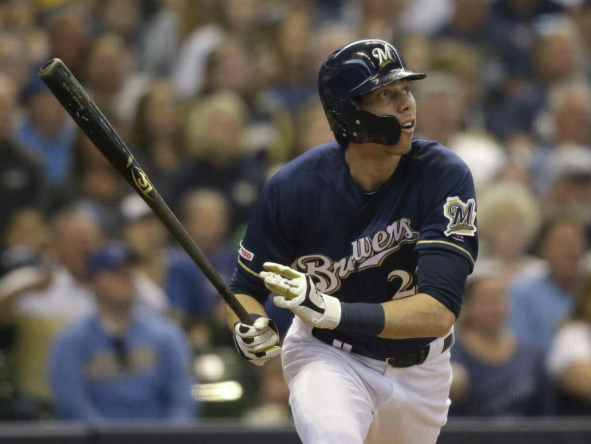 Brewers outfielder and reigning National League MVP Christian Yelich leads the majors with 24 home runs, but only five have come on the road.