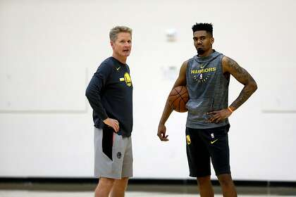 Why the Warriors aren't discouraged by Jacob Evans' rookie season