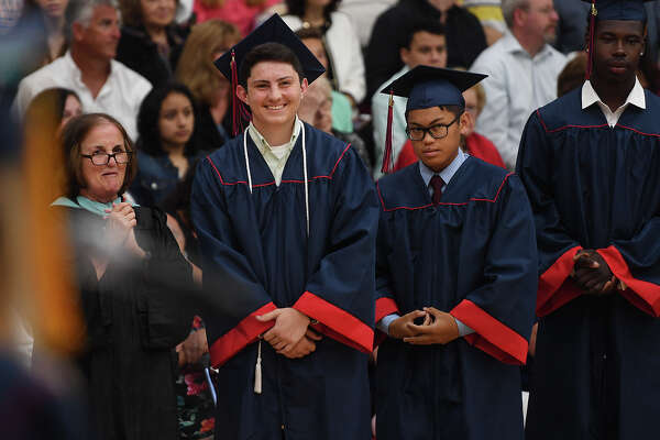 The Foran High School Graduation in Milford, Conn. on Monday, June 10, 2019.