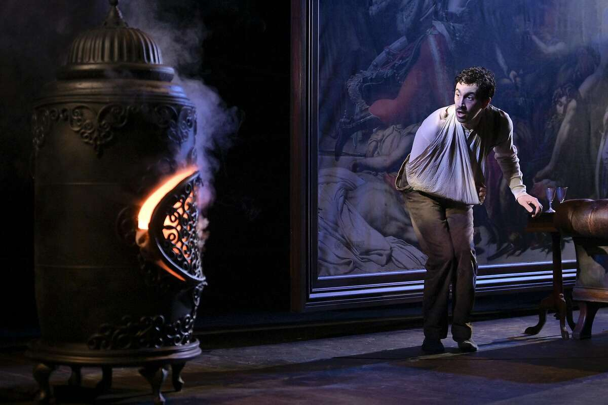 """A scene from the play """"Archduke,"""" staged by Theatreworks Silicon Valley."""