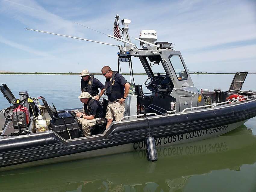 Divers retrieved a downed plane in Delta waters near Antioch on June 10, 2019.