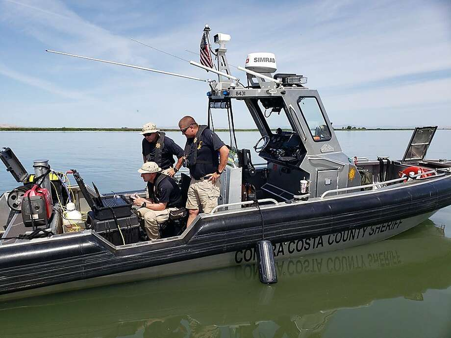 Divers retrieved a downed plane in Delta waters near Antioch on June 10, 2019. Photo: Courtesy Of The Contra Costa Sheriff's Office