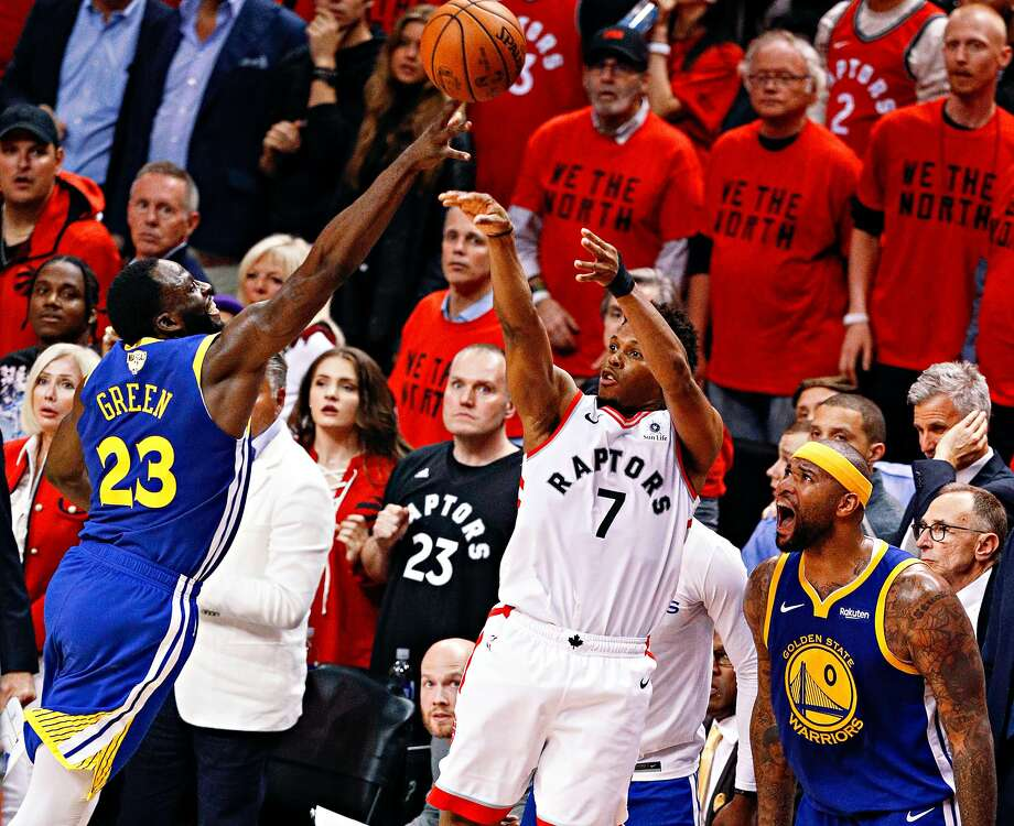 Click through the slideshow to see reactions to Kyle Lowry's missed shot in the final seconds of Game 5 of the 2019 NBA Finals.  Photo: Carlos Avila Gonzalez, The Chronicle