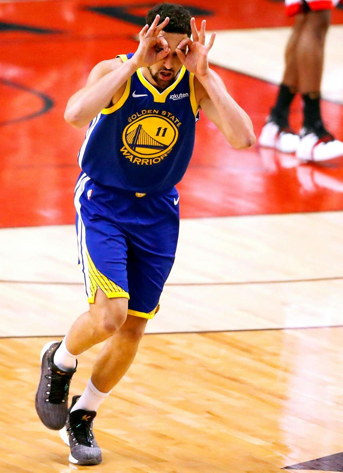 """Klay Thompson: Should be backThompson's ACL injury complicates things, although ESPN's Adrian Wojanarowski reported that Thompson could be back sometime between February and March of 2020. The shooting guard is an unrestricted free agent this summer, but his father Mychal Thompson said there's """"no question"""" Thompson will re-sign."""