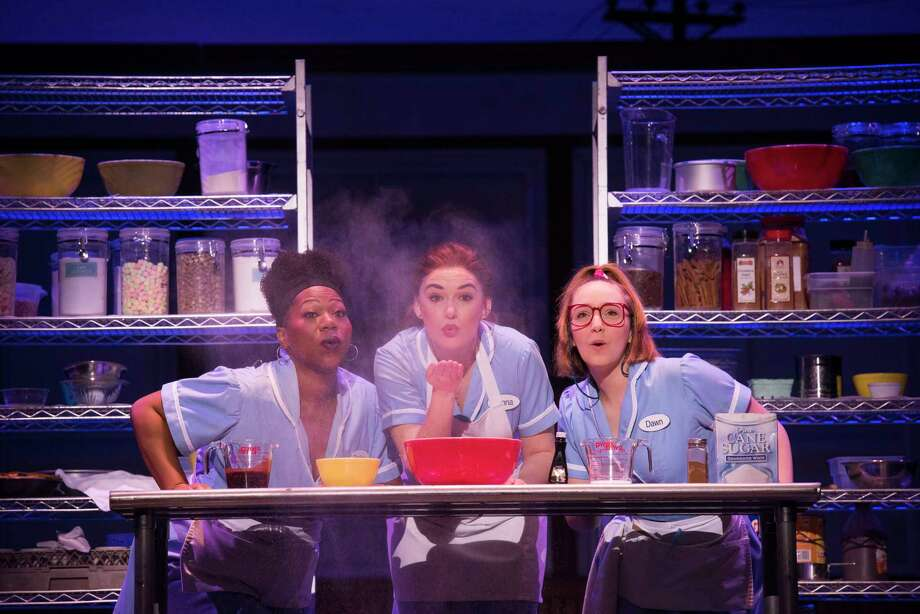 "From left, Melody A. Betts, Christine Dwyer and Ephie Aardema in the national tour of ""Waitress."" (Publicity photo by Daniel Lippitt.) Photo: Daniel Lippitt, Waitress National Tour"