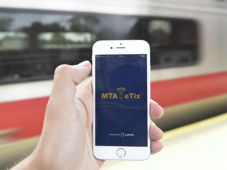 The MTA eTix app will undergo scheduled maintenance between 3 a.m. and 4 a.m. Wednesday. Photo: Tyler Sizemore / Hearst Connecticut Media / Greenwich Time