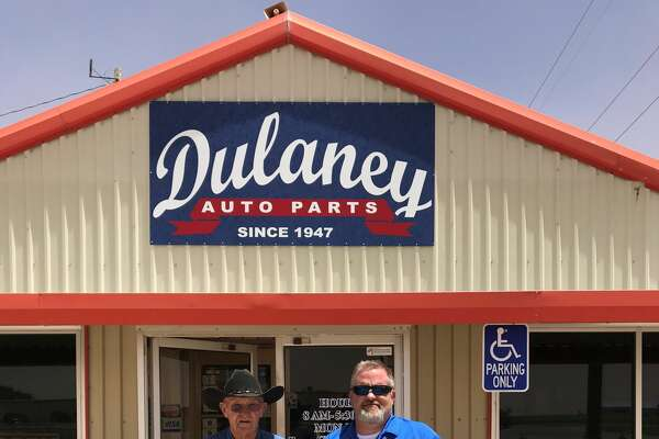 Keep Plainview Beautiful Partners Award: Dulaney Auto Parts - (pictured L-R) Herman Lindeman and Cody Lindeman