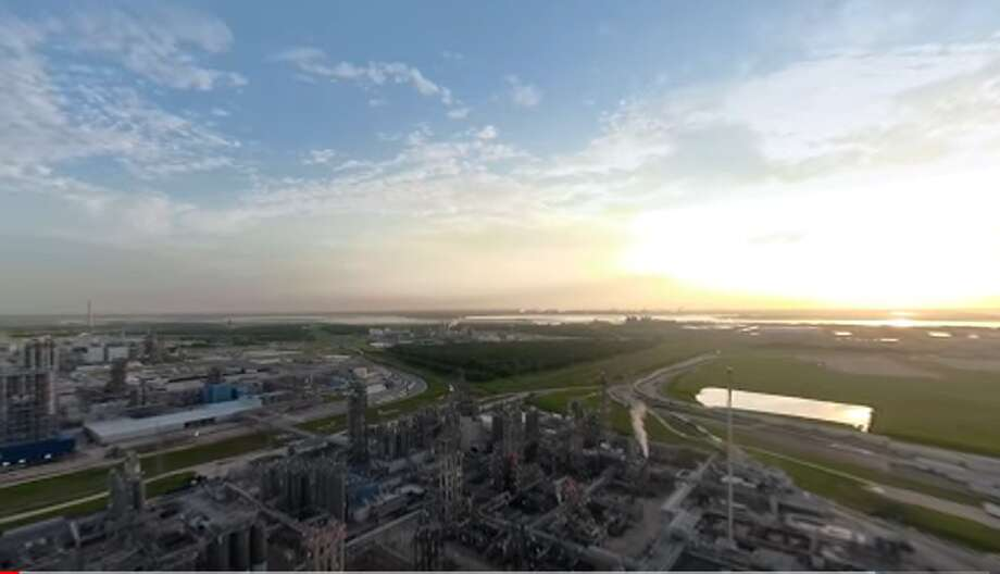 A frame from the virtual reality video tour of Ineos' La Porte plant, made in collaboration with the industry lobbying group AFPM. Ineos is considering an $803 million expansion of the site. Photo: Courtesy AFPM