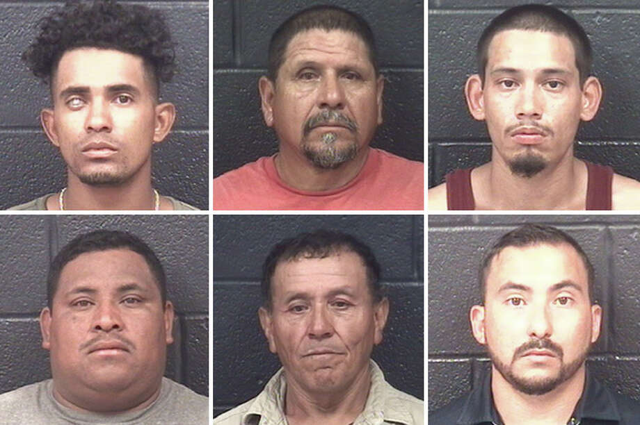 A prostitution sting landed 10 men behind bars, Laredo police said Monday. Photo: Courtesy