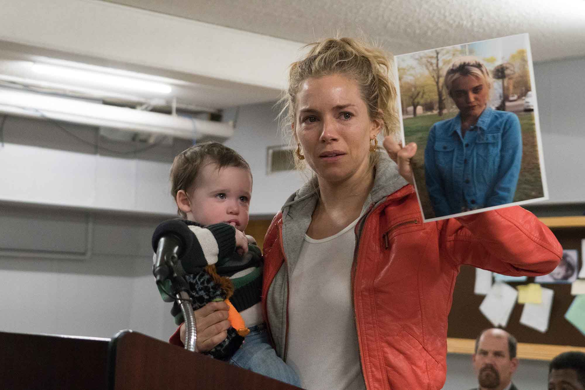 In 'American Woman,' Sienna Miller delivers a portrait of a woman forged by grief