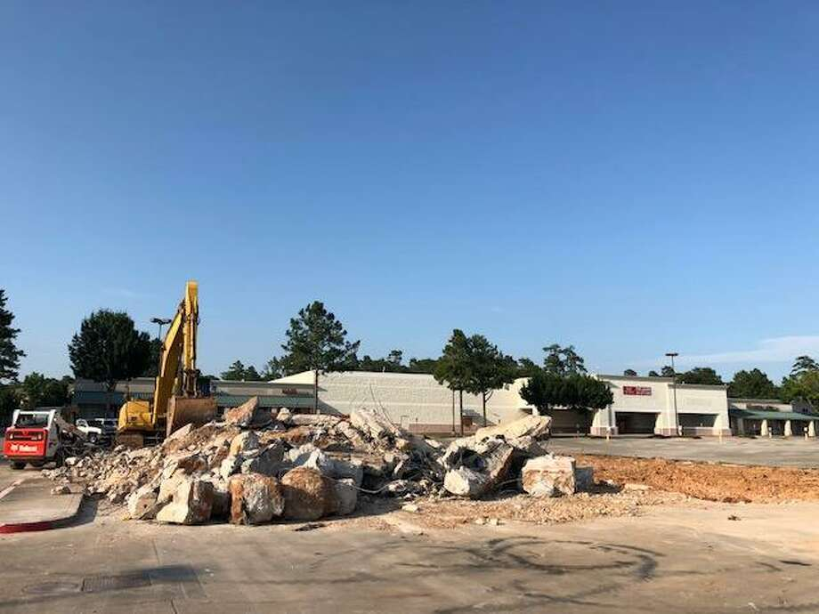 The former Kroger fueling station at Davis Street and Loop 336 has been demolished to make room for a new 6,000-square-foot Auto Zone. Photo: Courtesy Photo
