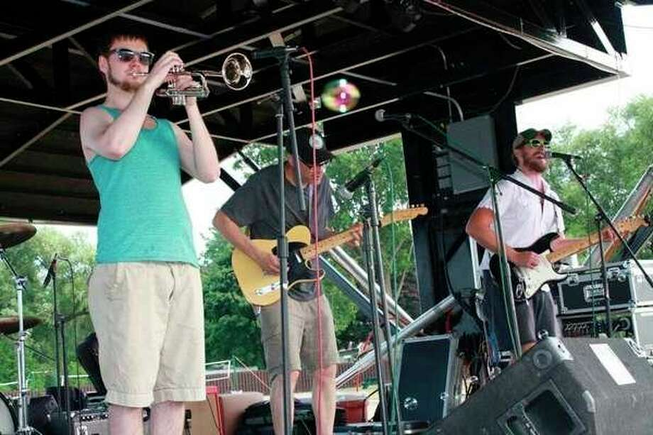 A band performs during last year's Maritime Festival in Harbor Beach. (Tribune File Photo)
