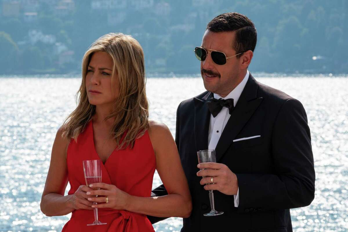 Jennifer Aniston and Adam Sandler are together again in