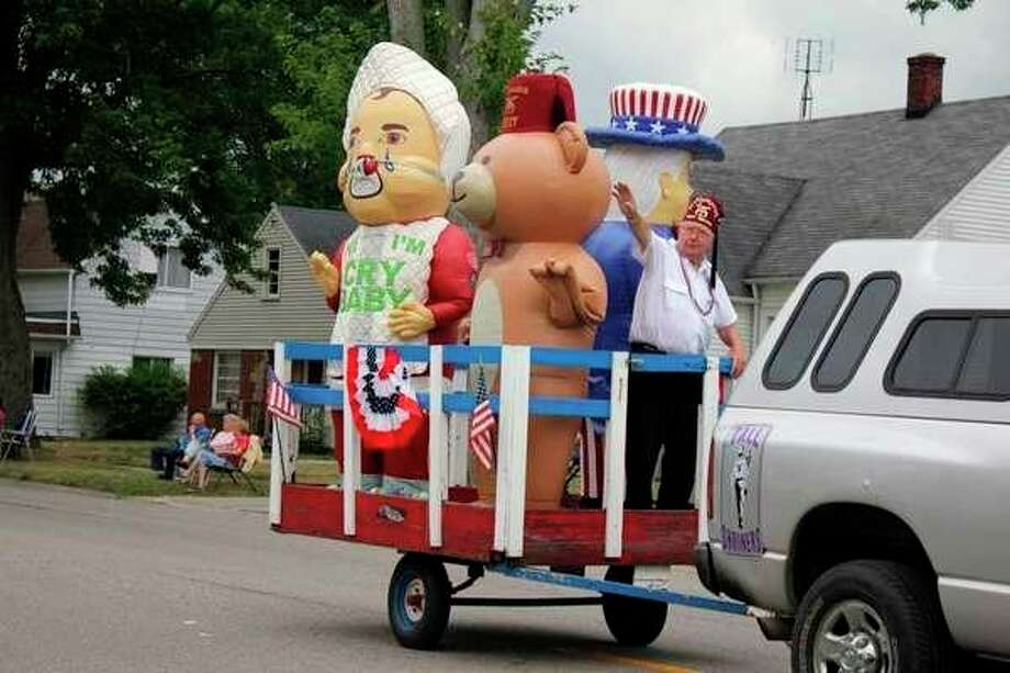 This is an entry during last year's Summerfest parade in Pigeon. (Tribune File Photo)