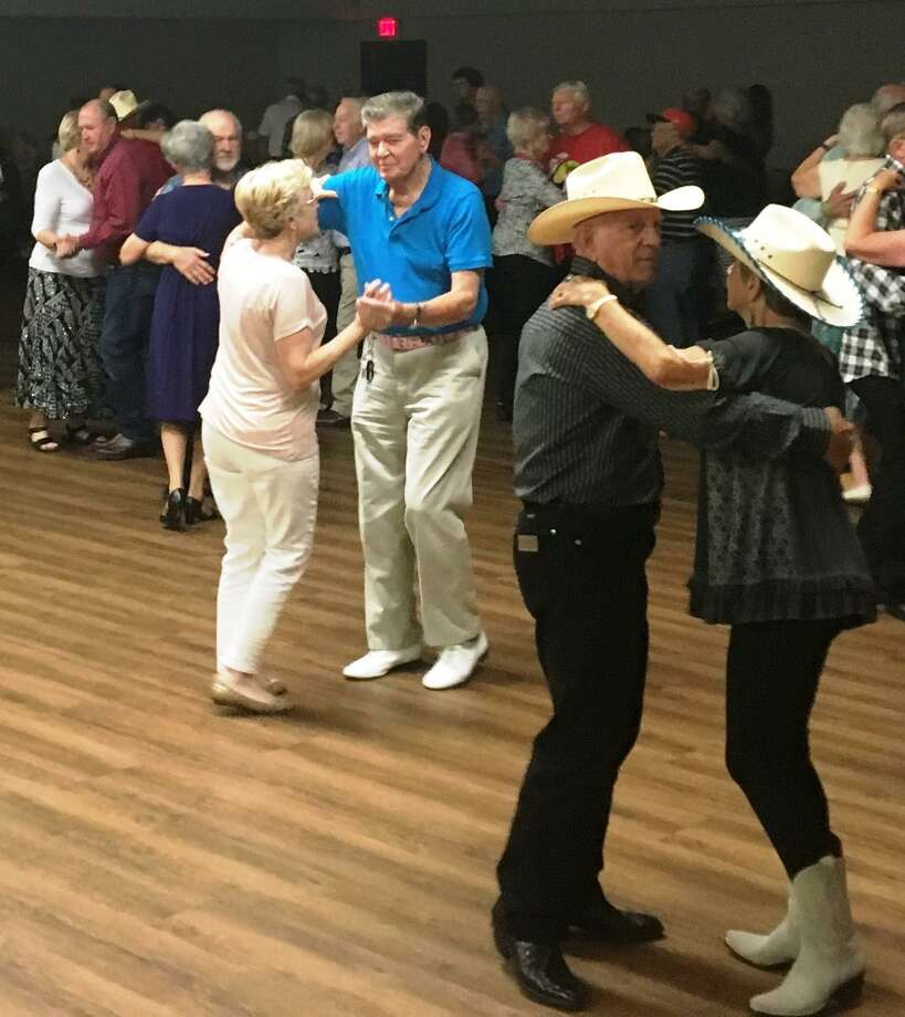 Join the fun at the Senior Dances. Couples and singles are welcome to weekly dances featuring bands from Country & Western to Golden Oldies. Line dances and mixers get everyone involved. Dances are held Friday or Saturday evenings at the City of Conroe Activity Center, 1204 Candy Cane Lane (formerly Callahan Ave). Cost is $5 per person at the door. Doors open at 6:30 pm, Dance starts at 7 p.m. and end at 10 p.m. Grateful Geezers perform on Friday, Aug 23. Photo: Courtesy Photo