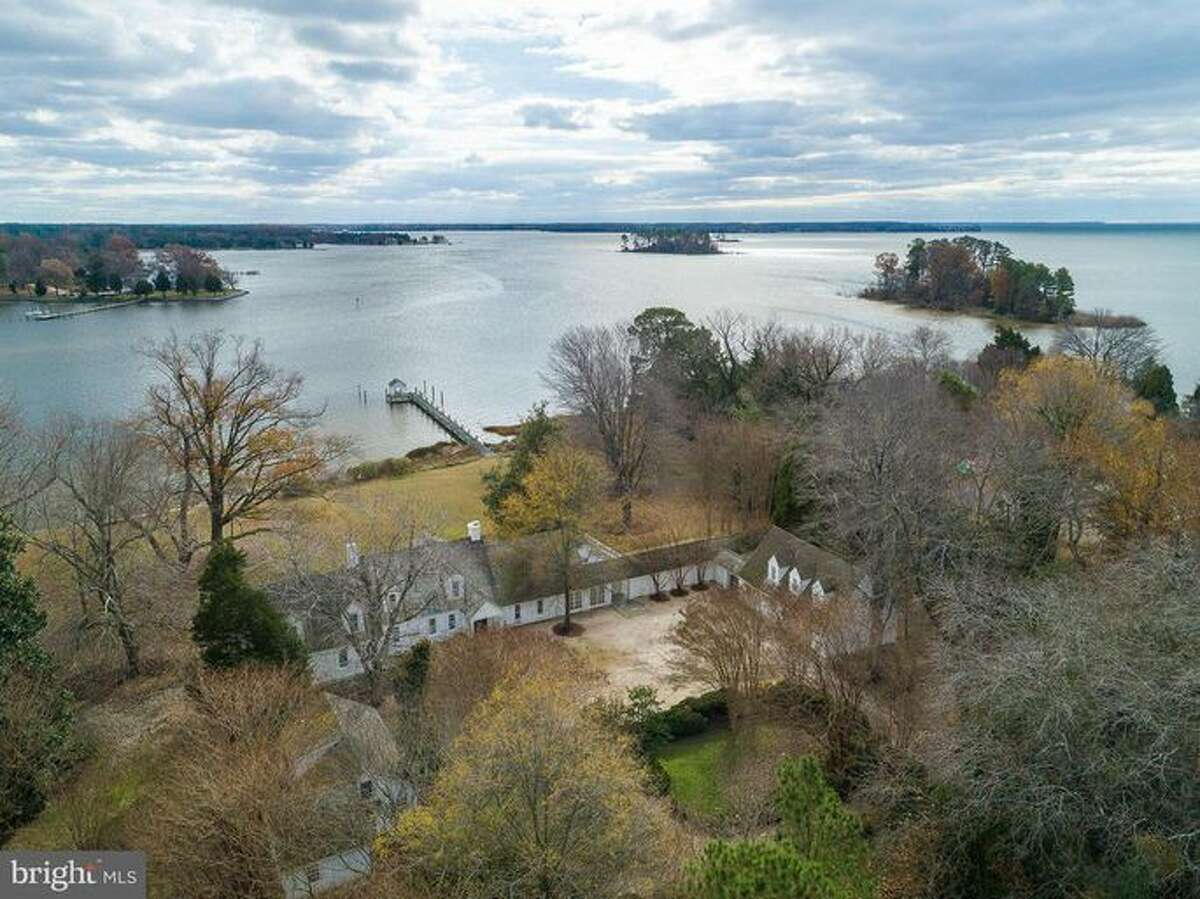 Dick Cheney's waterfront estate