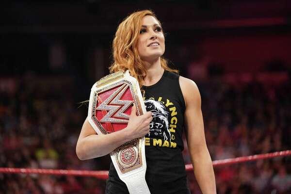 WWE star Becky Lynch slams into San Antonio for Celebrity Fan Fest